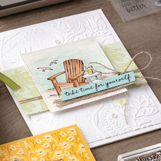 seaside view stamp set