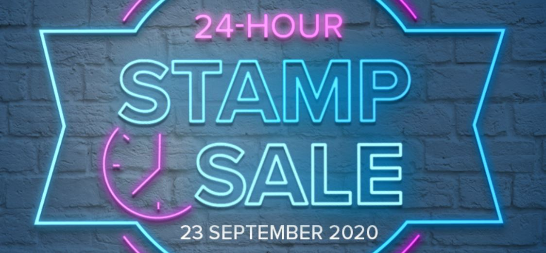 24hr stamp sale